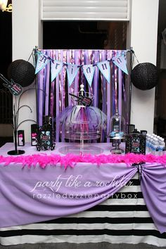 Party Pops Rockstar Theme Birthday Party Kpop Rockstar Cumple
