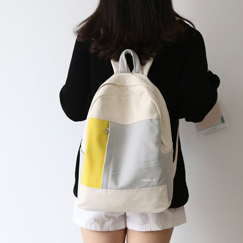 #2020 #colors #match #teenagers #fashion #design #women #canvas #backpack #middle #school #student #useful #book #bags #girls #leisure #travel #backpacks