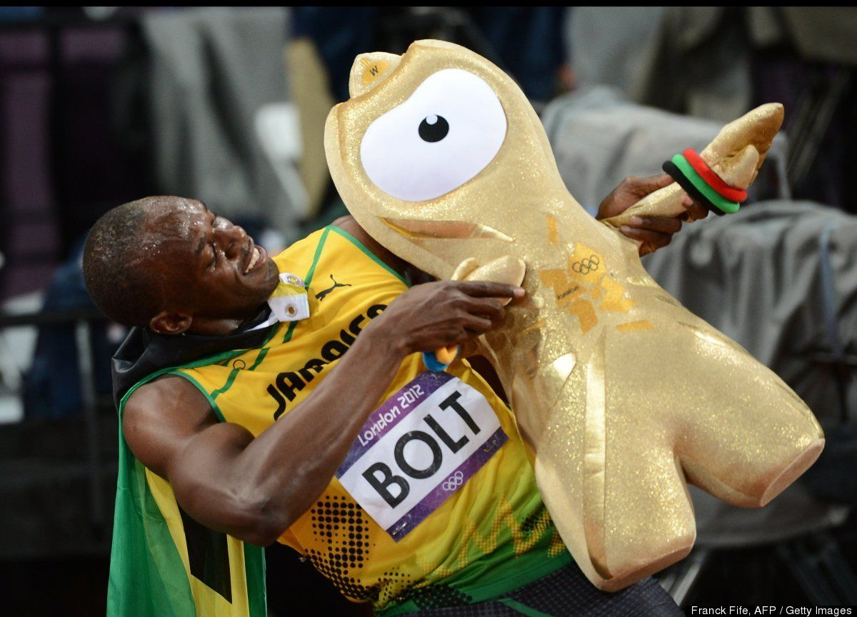 LOOK: Police Salute Usain Bolt | Usain bolt, Olympics ...