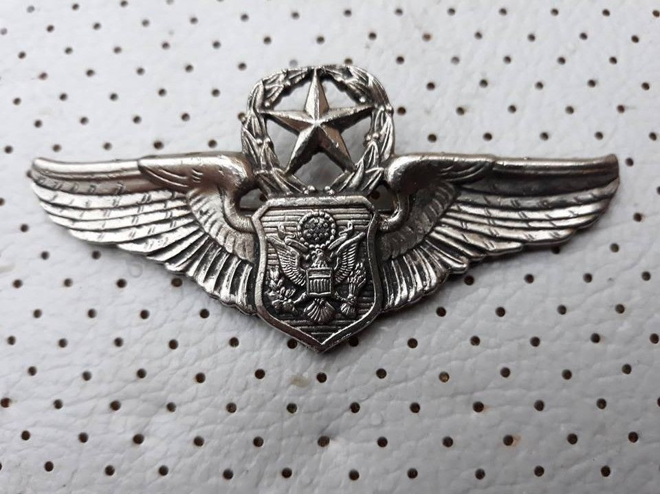 US Air Force Vintage Badge Command Aircrew Military Air