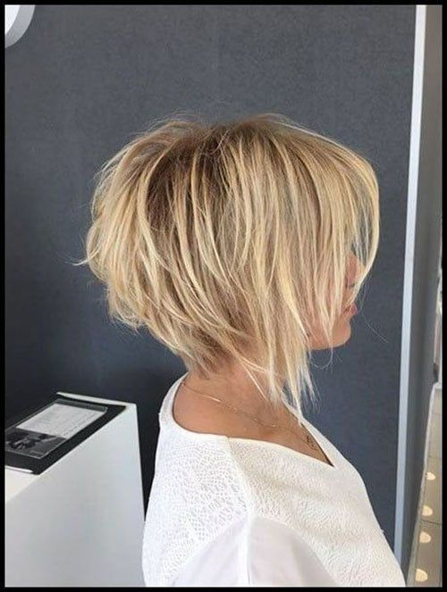 Best Short Layered Bob With Bangs #shortlayers