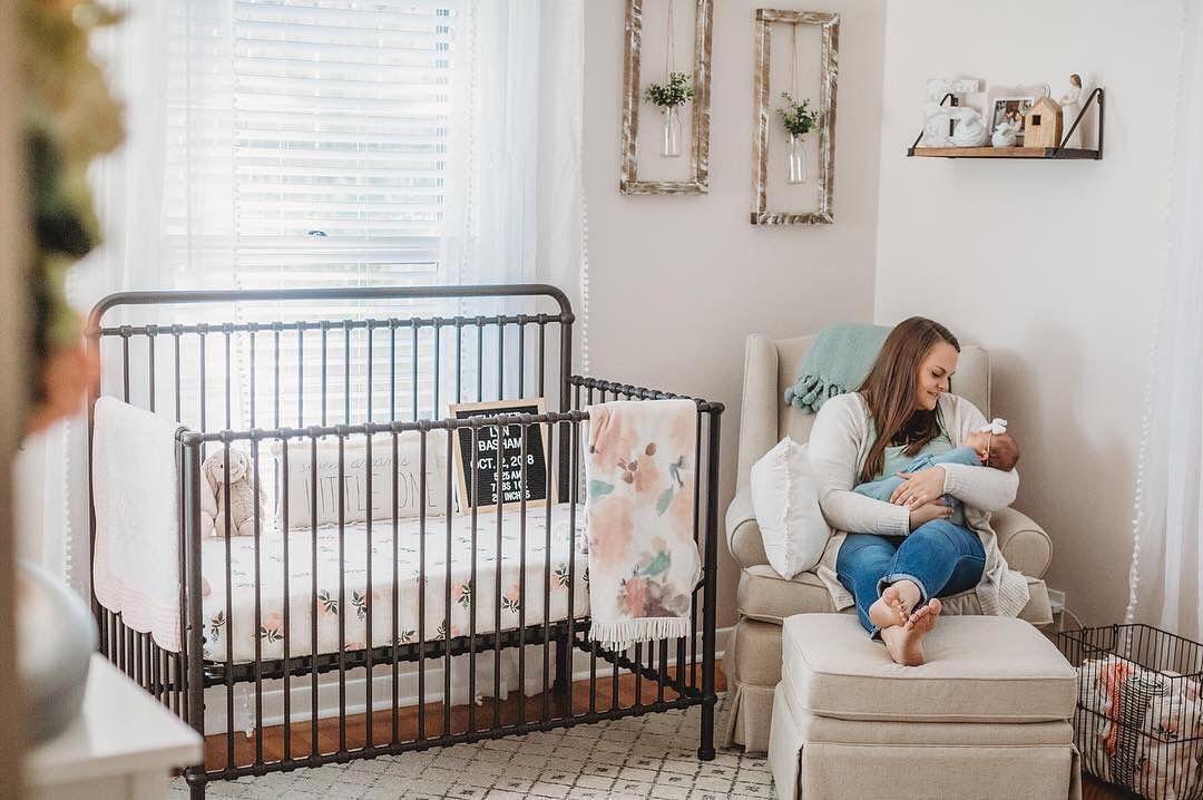 Winston 4 In 1 Convertible Crib Baby Girls Nursery Iron Crib Nursery Iron Crib