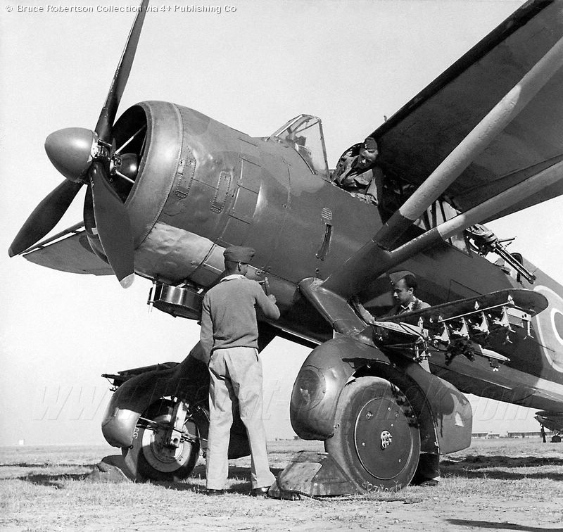 The Westland Lysander equipped three of the four IAF