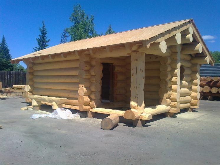 Art Naturstammhaus Herkunft Russland Massivholztyp