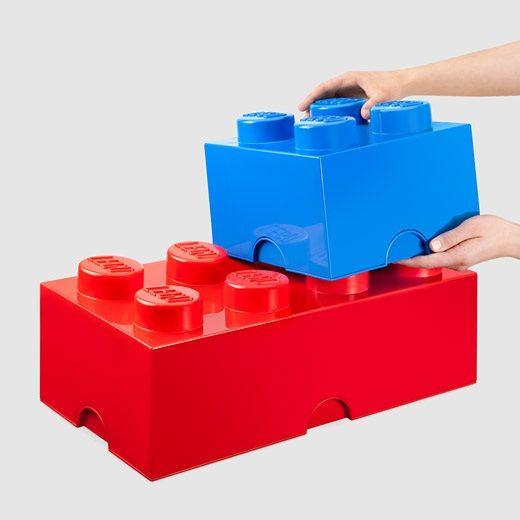LEGO Storage Bricks lets your kid build organization skills Lego