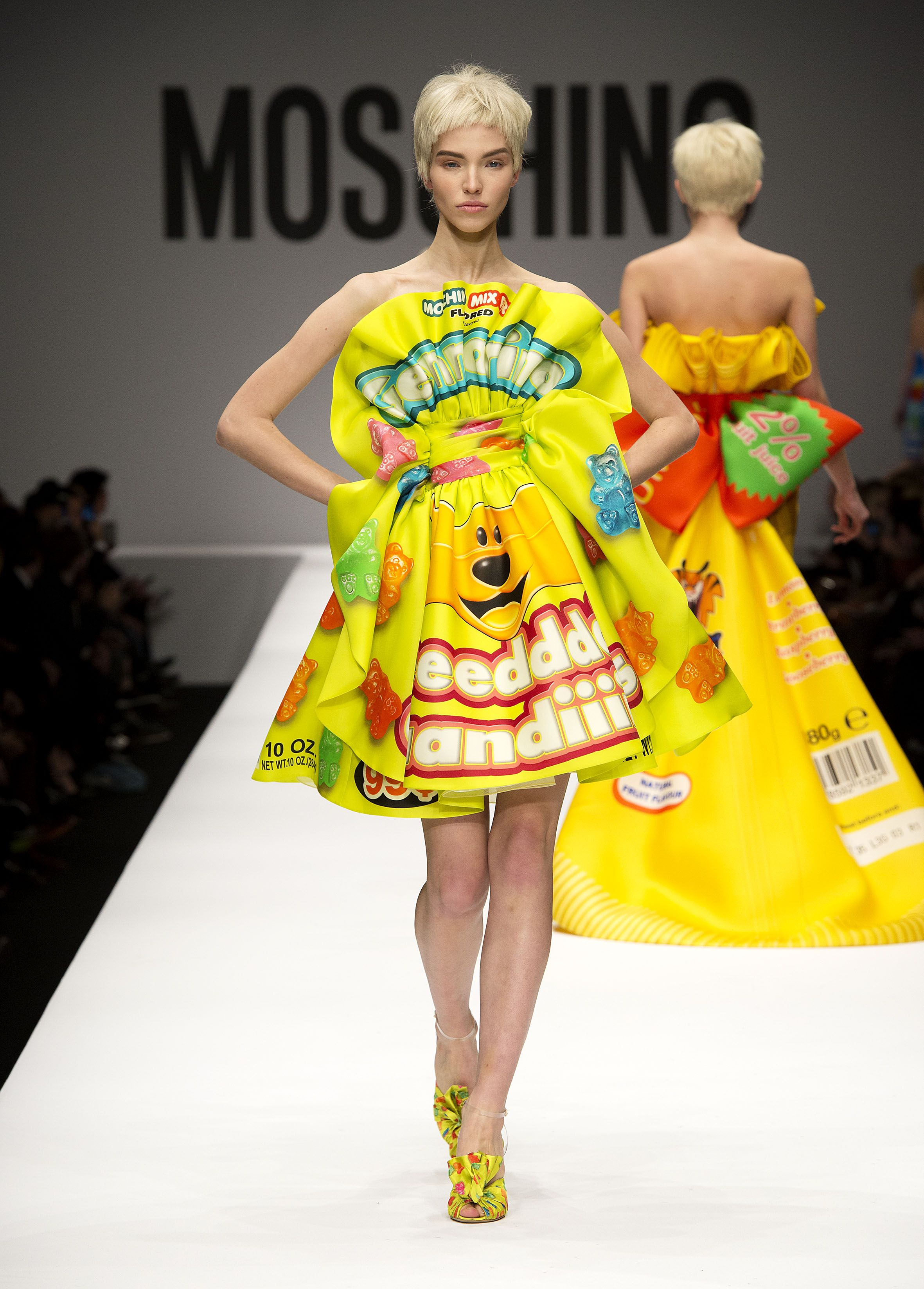 Moschino Spring/Summer 2014 fashion show - #Moschino - See more on www.moschino.com