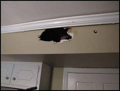 Our Kitchen Renovation is Complete | Kitchen soffit ...