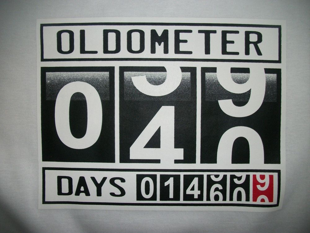 Funny Tshirt Oldometer 39 To 40 Years Age Old Birthday Gift Generation Humor Funny Birthday Cards Funny Birthday Gifts 40th Birthday Cards