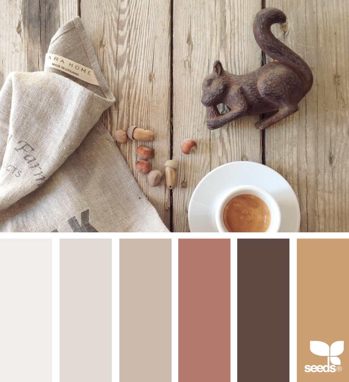 Farbe Nut Color Nut Rustic House Colors House Color Schemes