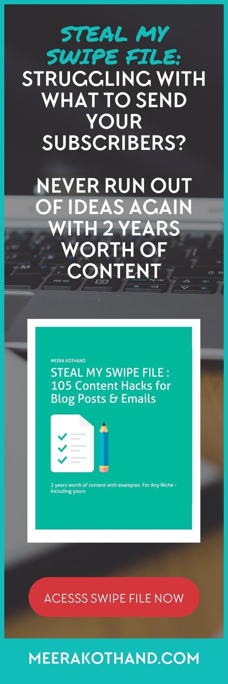 Wondering what to write or send your list? Struggling to come up with content…