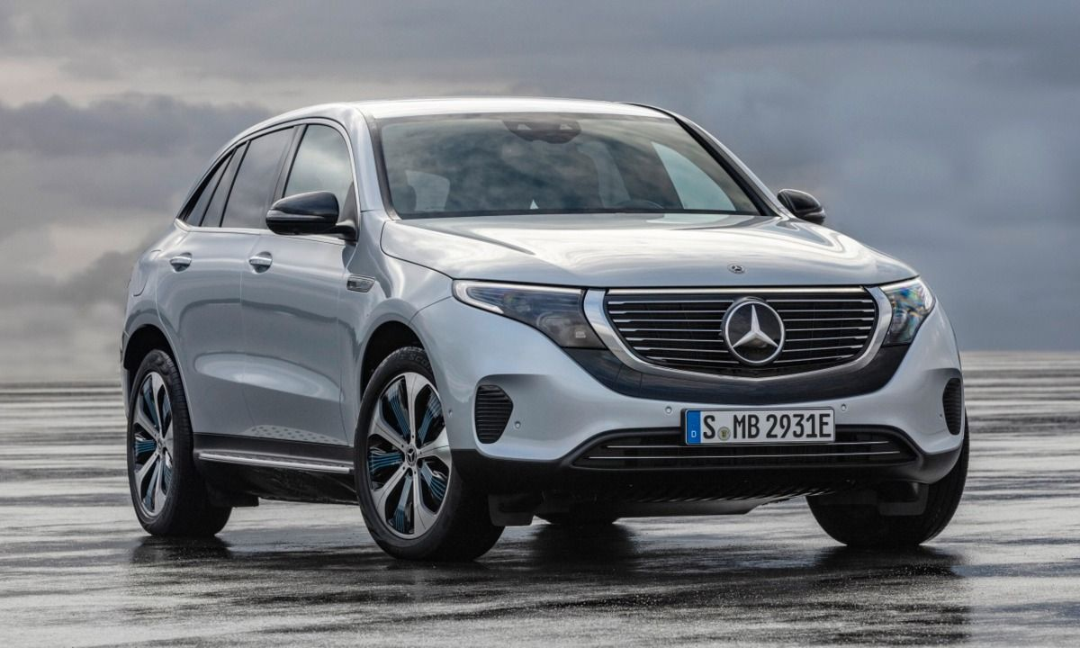 Check Out Mercedes Benz S First Electric Suv The Eqc Mercedes