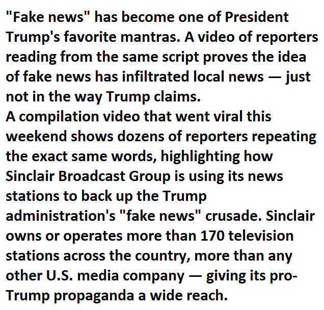 Here S Why That Video Of Reporters Reading The Same Script Went