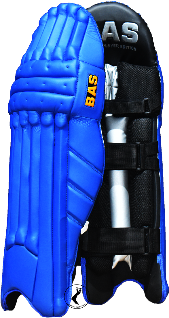Bas Vampire Player Series Navy Blue Colored Cricket Batting Pads Blue Navy Blue Blue Color