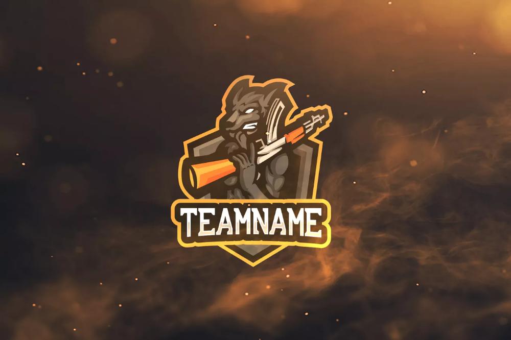 Логотипы спорта Wolf и киберспорта от ovozdigital on