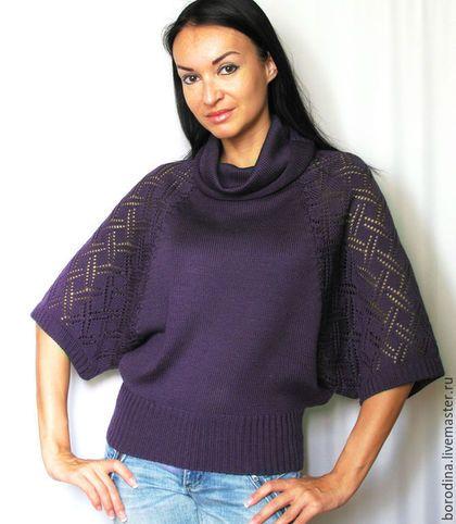Вязание на машине свитера
