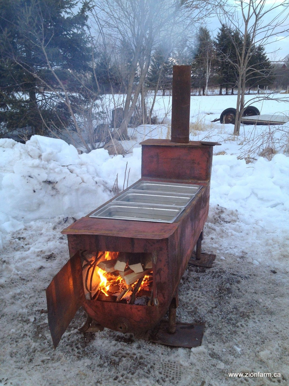 The Sap-o-rator, DIY evaporator/boiler for quickly reducing maple sap into  homemade maple syrup - The Sap-o-rator, DIY Evaporator/boiler For Quickly Reducing Maple