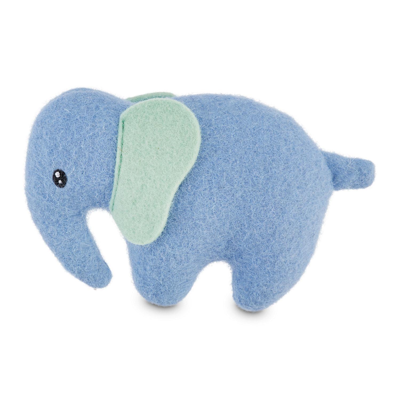 Serenity Peaceful Elephant Wool Dog Toy Dog Toys Petco Food