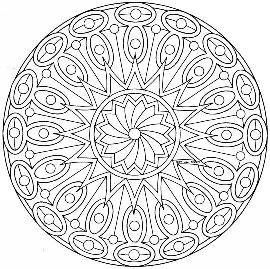 native american mandala colouring pages ( page 2) | coloring ... - Native American Pictures Color