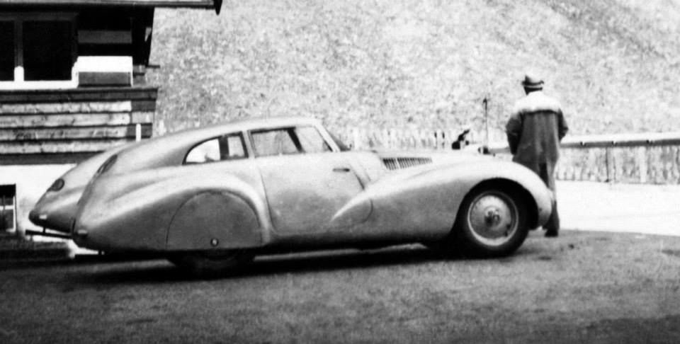 1940 BMW 328 Kamm Coupé Replica. The original Kamm Coupé, named ...