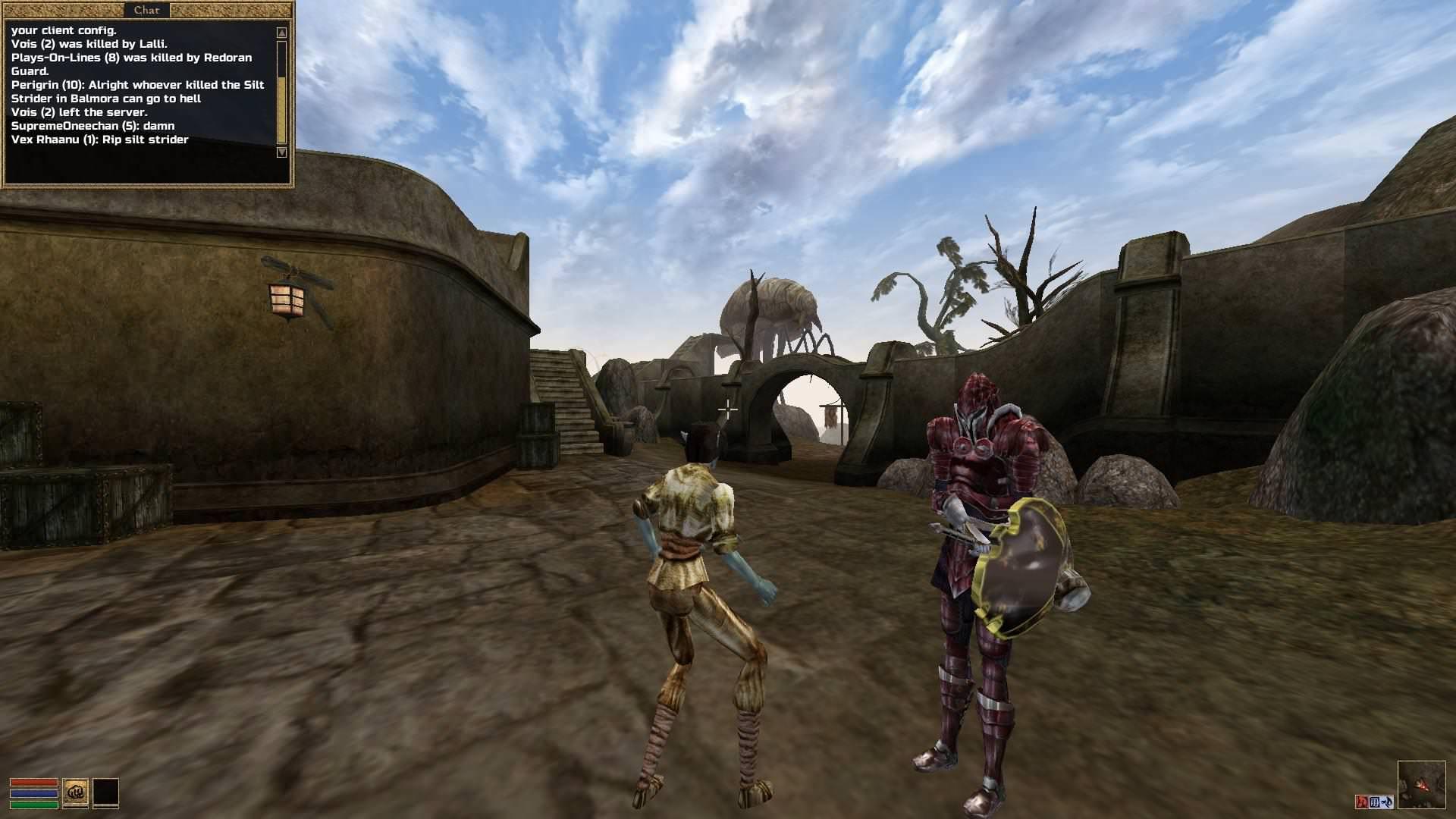 Playing Morrowind's first fully functional multiplayer mod- TES3MP