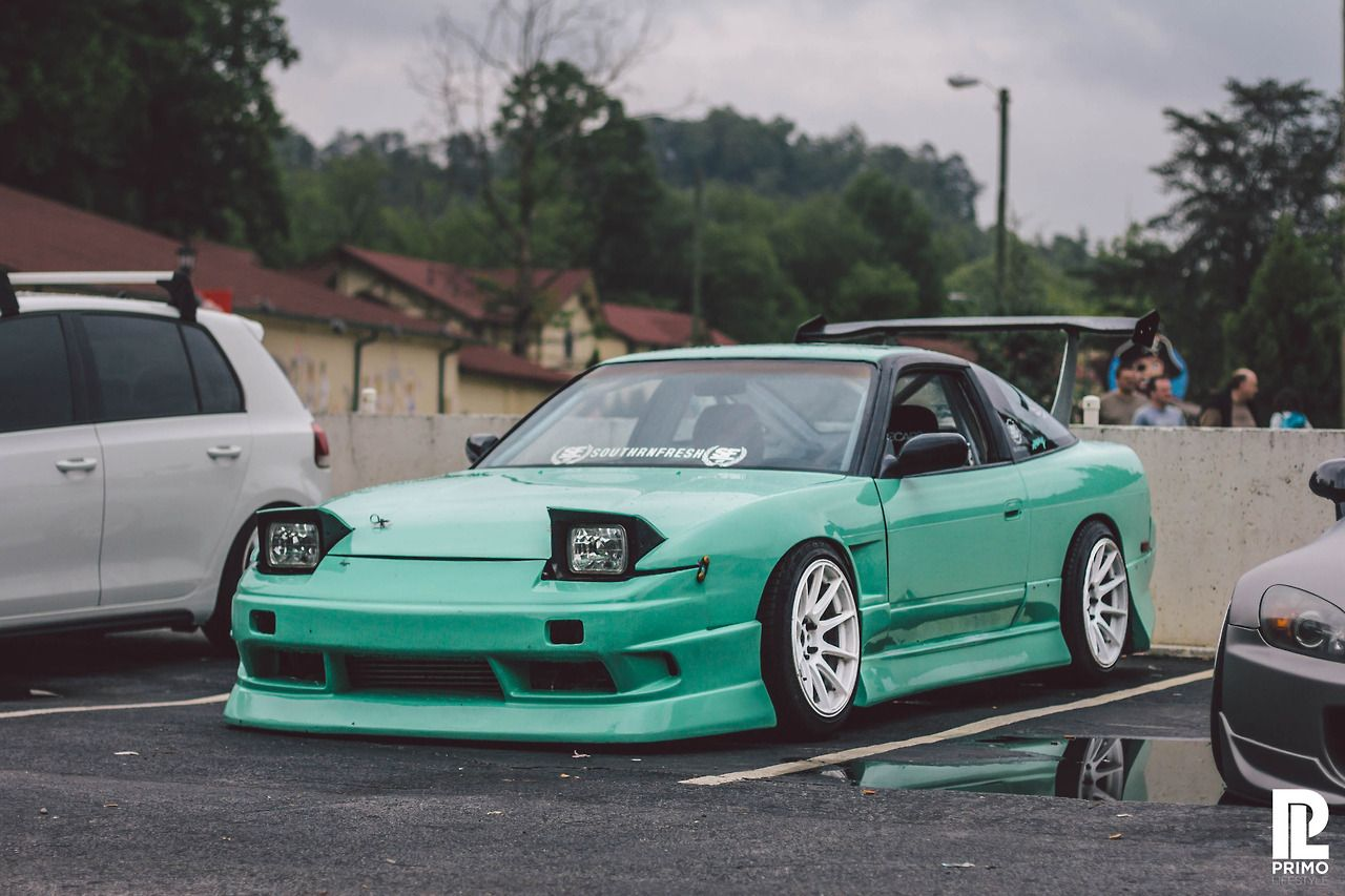 #240sx #mint #whiterims Beautiful s13 sitting pretty ...