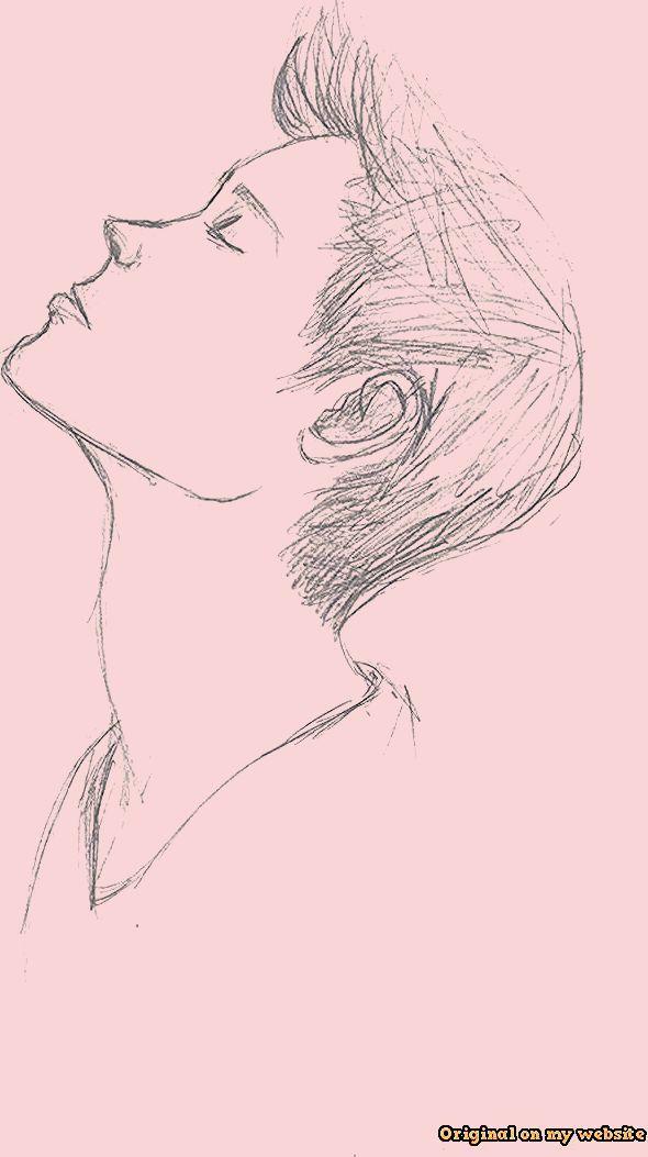 Art Drawings Tumblr - Easy Pencil Drawing Of A Sad Boy Tumblr ...  #artdrawingsa...