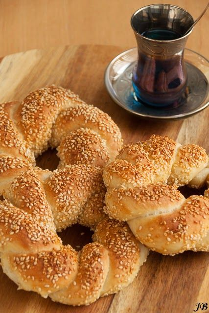 Carolines blog: Simit (Turkse bagel)