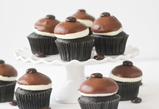 Junior mint cupcakes