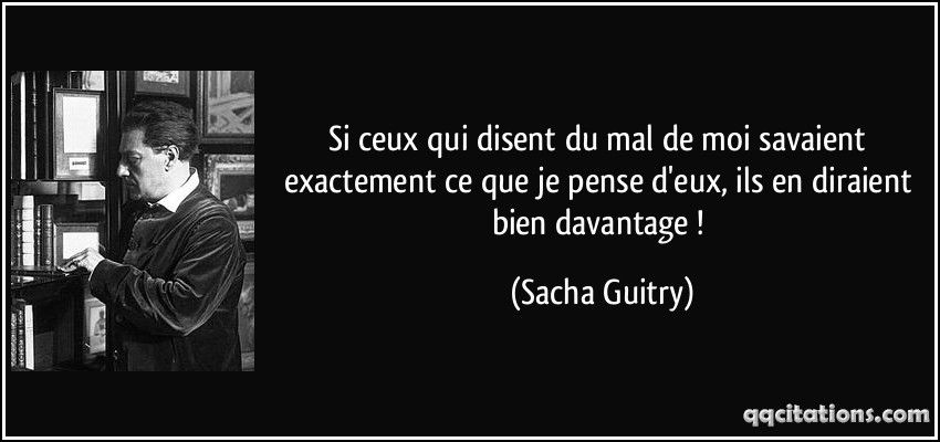 Sacha Guitry Citation Sacha Guitry Citation Pensee