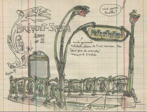 art nouveau bouche de metro design dessin google search typography pinterest. Black Bedroom Furniture Sets. Home Design Ideas