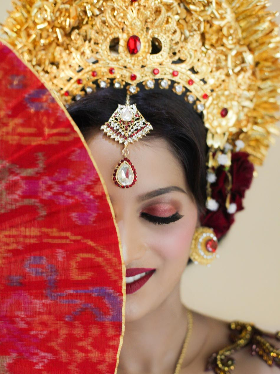 Anola And Wizley Indian Wedding Ceremony With Balinese Traditional Wedding Custom Indian Wedding Ceremony Indian Wedding Wedding Ceremony