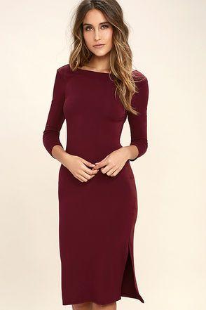22+ Womens maroon dress ideas
