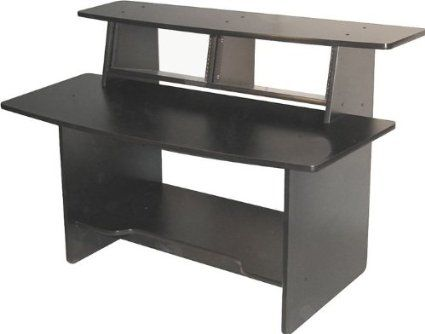 Amazon Com Omnirax Presto Studio Desk Black Studio Home