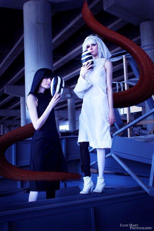 kuro and shiro cosplay - Google Search