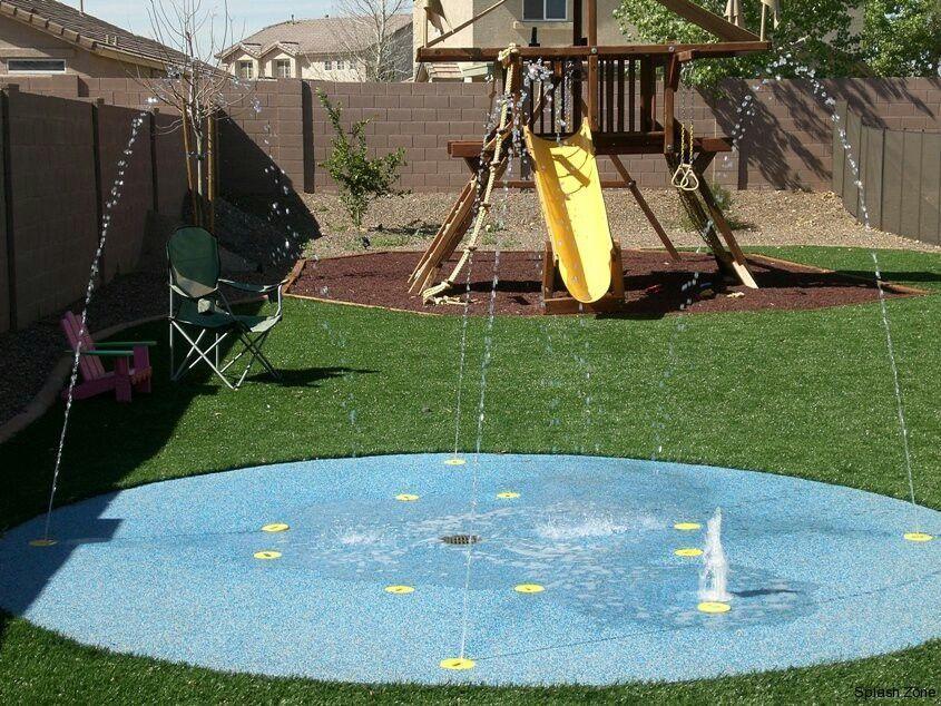 DIY Splash Pad: 19 Inspiring Pictures to Make Your Own ...