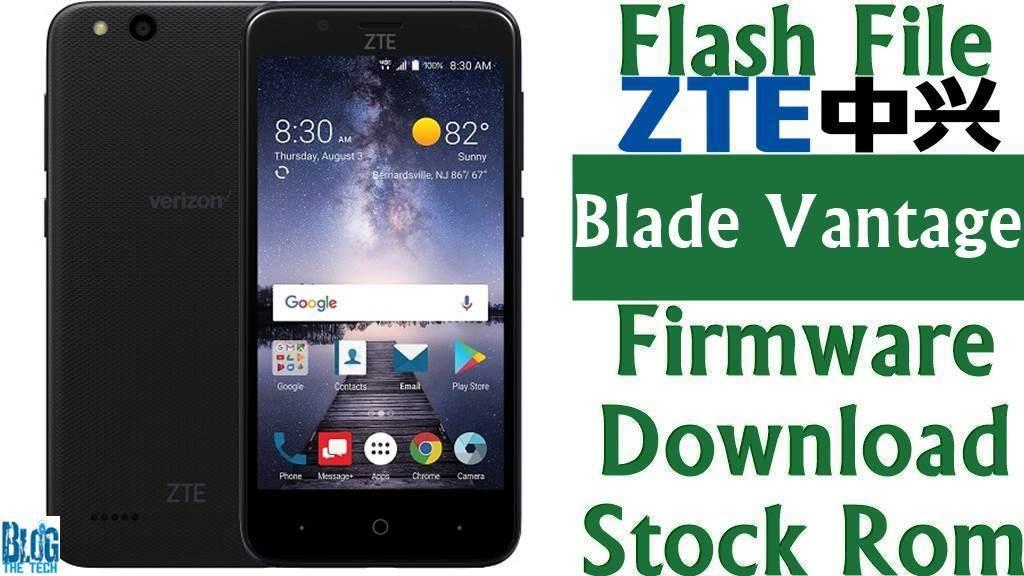 Firmware] ZTE Blade Vantage Z839 Stock Rom Download [Flash