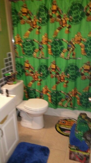 Ninja Turtle Bathroom