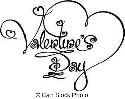 Valentines Day Clipart Black And White Google Search Seasonal