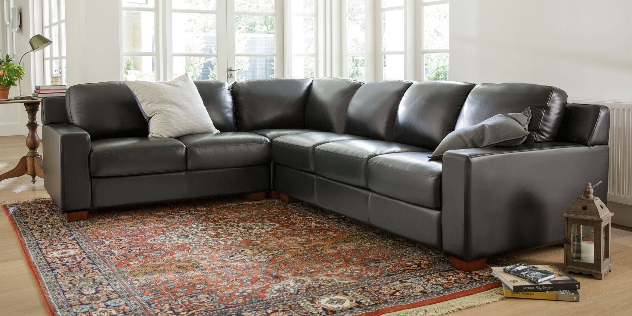 Plush Leather Sofa Beds