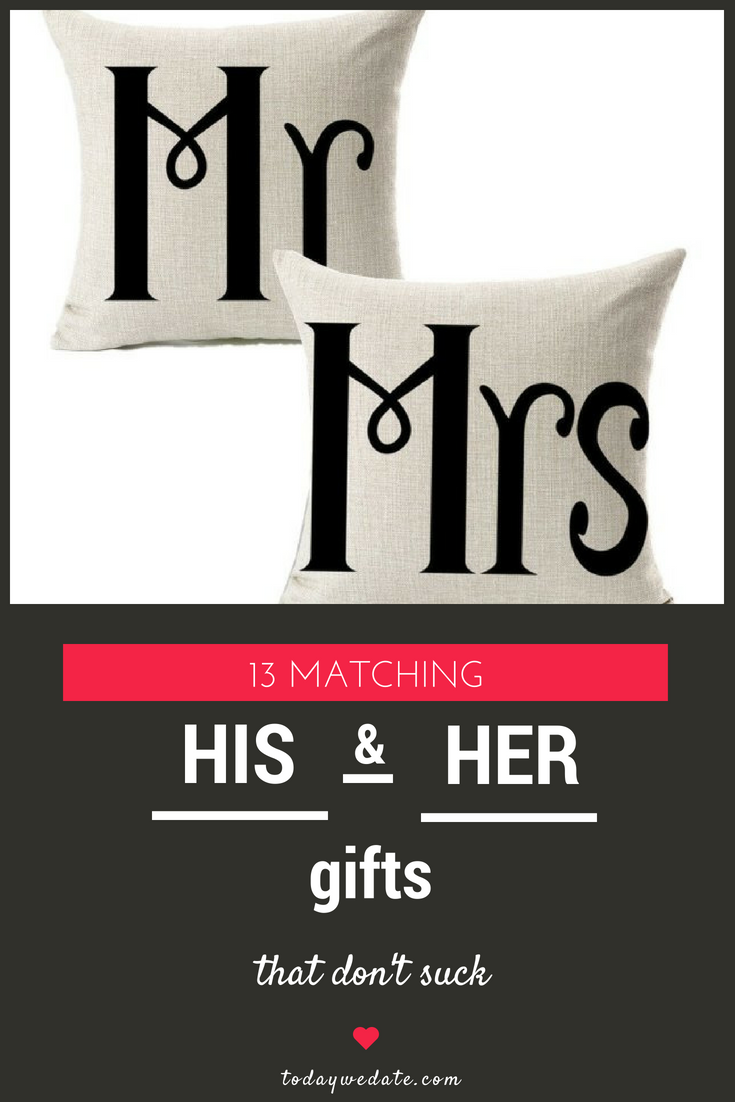 13 Unique Matching Couple Gift Ideas For You And Your Bae Wedding