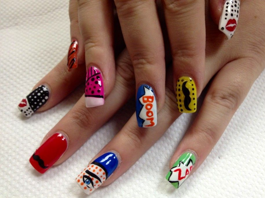 Funky Nail Art Ideas – 45 Coolest Nail Desings you must try ...