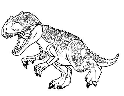 Pin By Wahiba On Pre K K Coloring Pages Dinosaur Coloring Lego Jurassic World