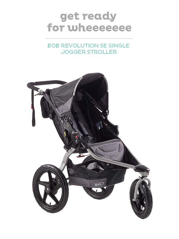 The All In One Bob Stroller Is Designed For All Your
