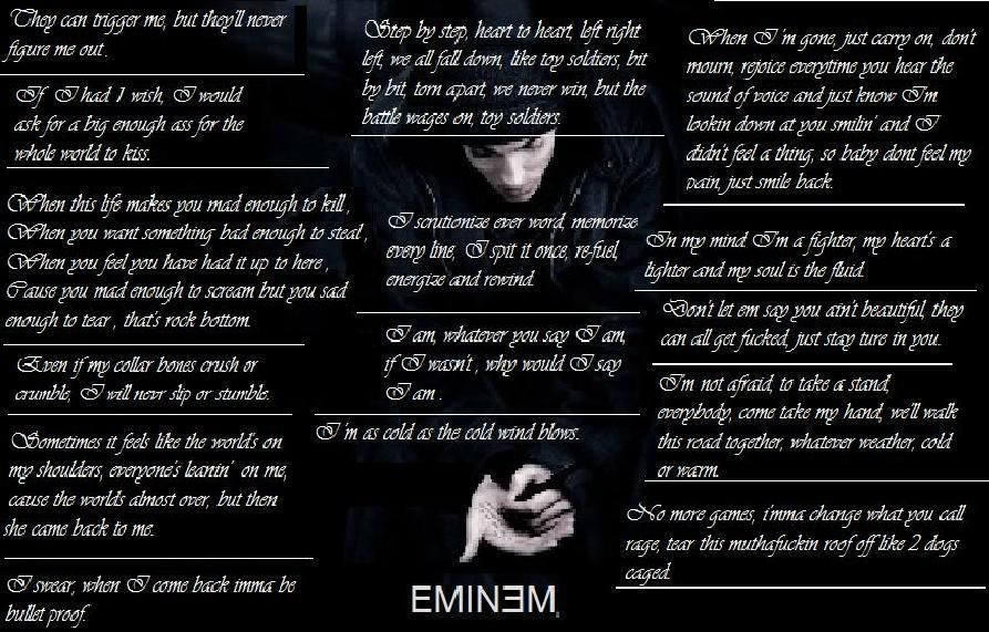 Lyric i m not afraid eminem lyrics : love this. | Eminem | Pinterest | Eminem, Eminem quotes and Slim shady