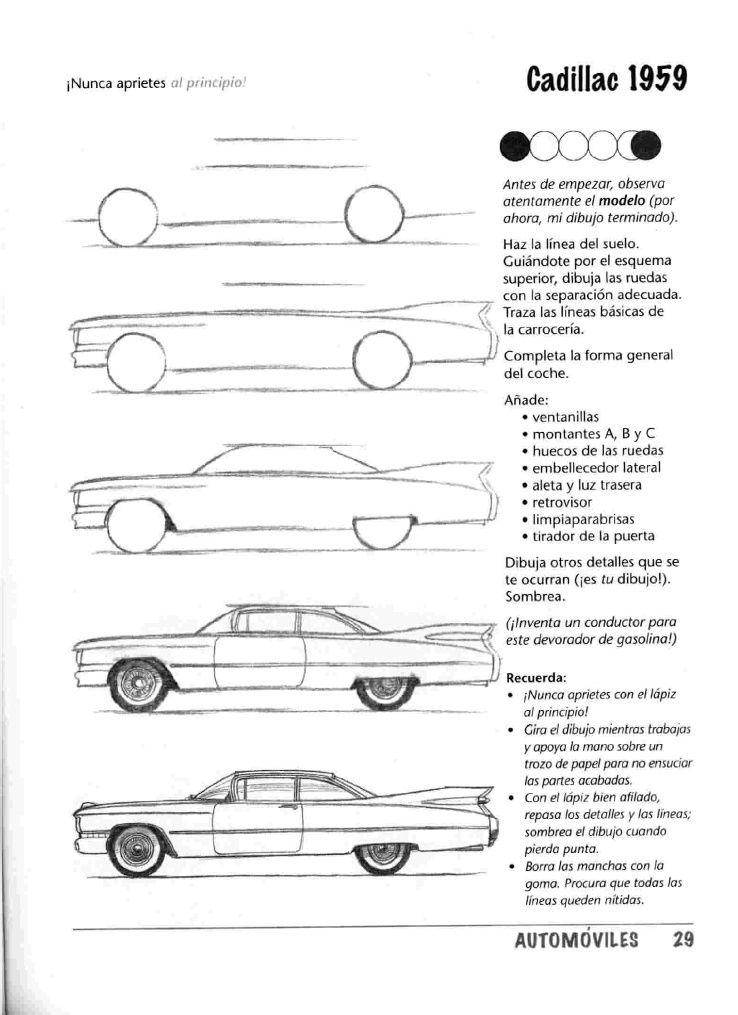 Como Dibujar Autos Paso A Paso Taringa Dibujo Auto Drawings