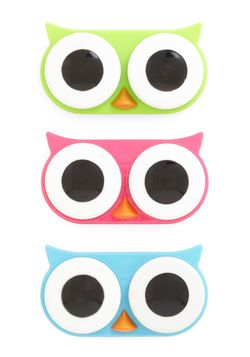 I See Whoo Contact Case, #ModCloth. Someone please get this for me!