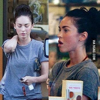Photo of Megan Fox without makeup