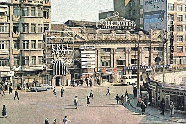 Resultado de imagen de Majik sinema istanbul
