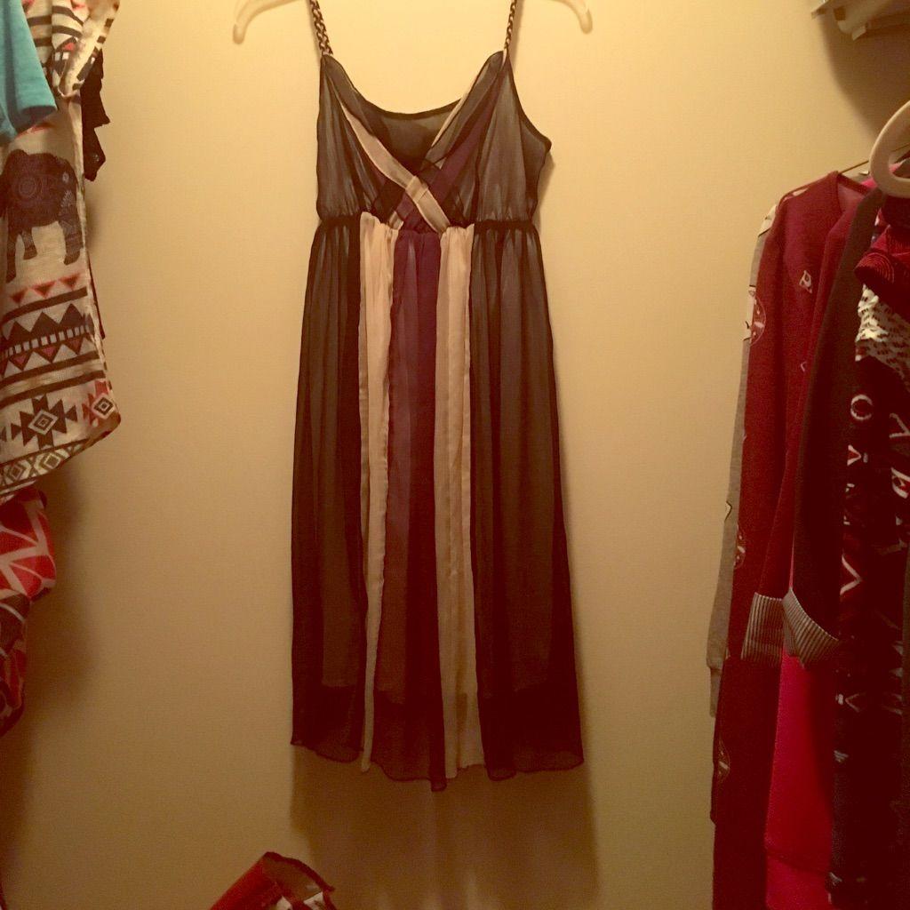 Pretty Long Flowy Dress