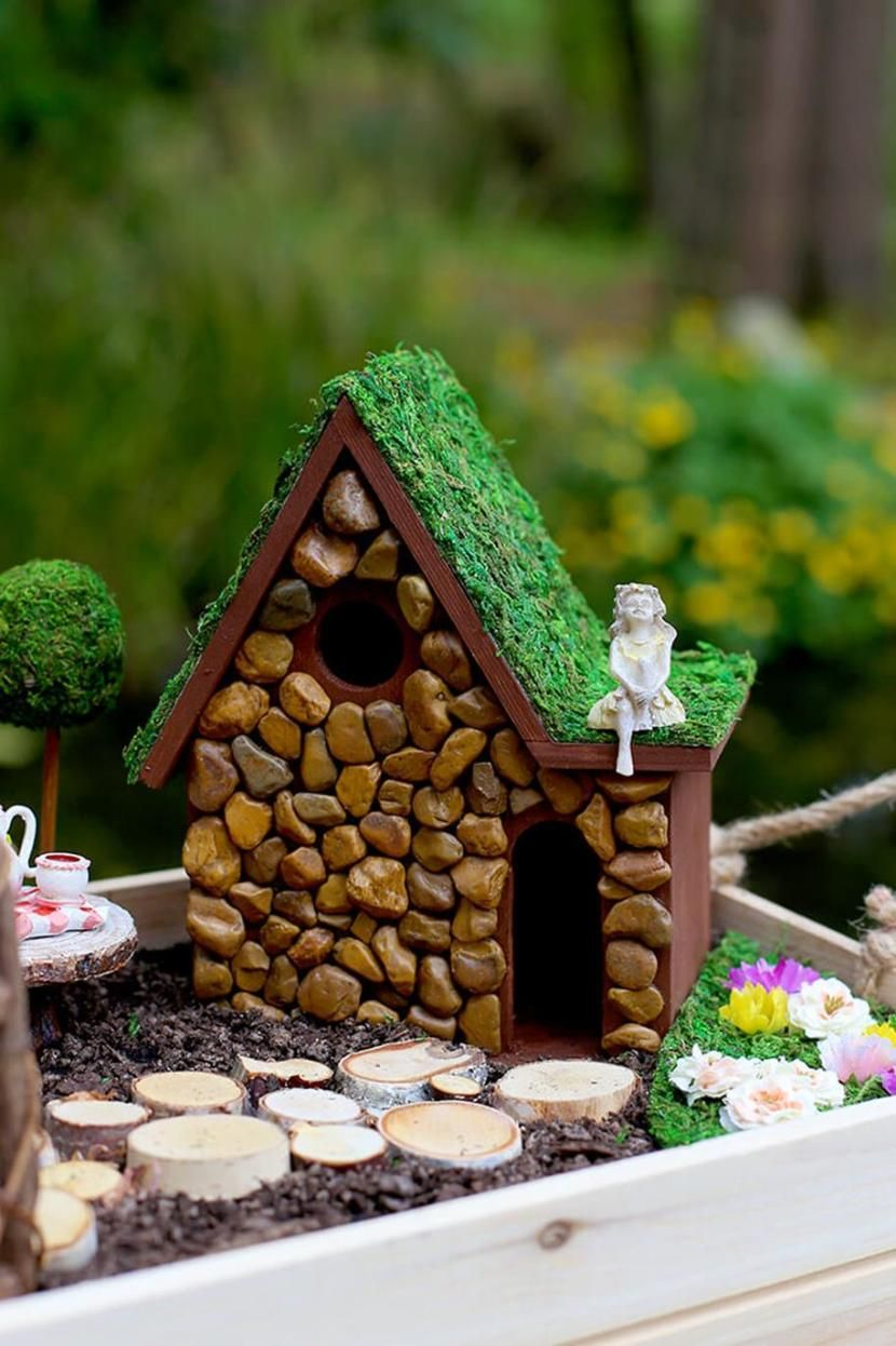 31 Diy Fairy Garden Accessories Ideas Fairy Houses Pinterest